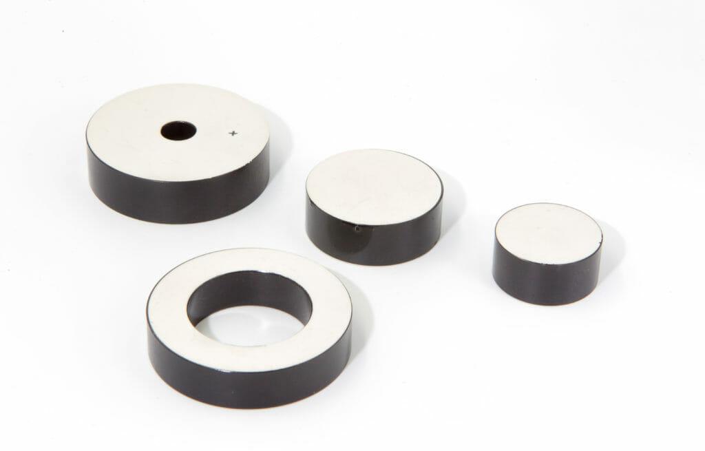 Piezo circular/disk actuator